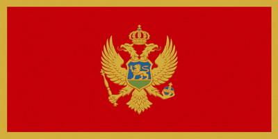 Государственный флаг Черногории