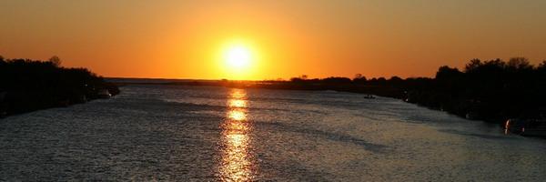 Ада-Бояна. Закат солнца.